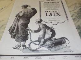 ANCIENNE PUBLICITE VOS FOURRURES ET ELECTRO LUX 1925 - Autres