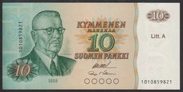 Finland 10 Markka 1980 P112 (sign. Ollila&Mäkinen) UNC - Finland