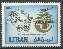 Libanon 2002 125 J. Weltpostverein UPU Libanesische Post 1424 Postfrisch - Liban