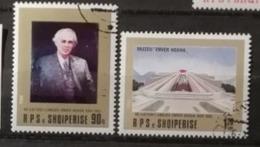 Albanie 1988 / Yvert N°2171-2172 / Used - Albanien
