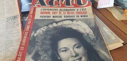 ACTU 43  /MARIA DENIS /AVEUGLES LE CHESNAY /LYS GAUTY JOSEPH DARNAND /VIVIANE ROMANCE /JO BOUILLON - 1900 - 1949