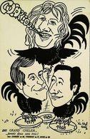 1981 Le Grand Chelem  Rudby  Coq  Patrick Sebastien  Tiberi   Tirage Limité - Política
