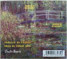 France 2010 : Jardins De France. Les Jardins De Giverny N° F4479 Oblitéré - Sheetlets