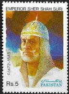 Pakistan Stamp 1991 Sher Shah Suri Pioneer Of Highways  MI 828 ** MNH - Pakistan