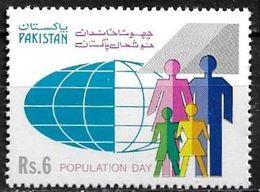 Pakistan Stamp 1992  DIA DE LA POBLACION  MI 852 ** MNH - Pakistan