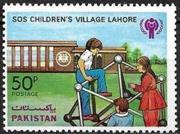 PAKISTAN 1979 STAMP SOS CHILDREN VILLAGE MNH  MI 495 ** MNH - Pakistan