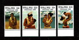 Palau 1985 Sc # 90 / 93  MNH **  Christmas - Noel - Palau