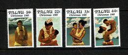 Palau 1985 Sc # 90 / 93  MNH **  Christmas - Noel - Christmas