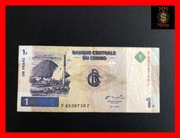Congo Democratic Republic 1 Franc 1.11.1997  P. 85 VF - Democratische Republiek Congo & Zaire