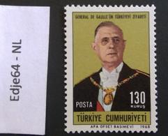 Turkije 1968 Staatsbezoek Charles De Gaulle Aan Turkije - 1921-... República