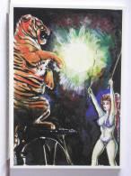CIRQUE 1989 - 6 - ILLUSTRATION DE PATRICE SEILER - 300 EX. - ETAT NEUF - Illustratori & Fotografie
