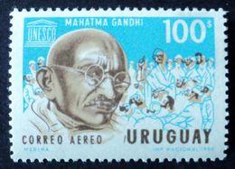 1970 URUGUAY MNH  MAHATMA GANDHI CENT. NACIMIENTO - CENTENARY OF BIRTH Yvert Air Mail 357 - Uruguay