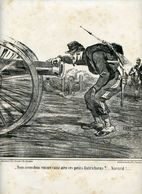 Campagne D'Italie1859.Napoléon III.Invasion Du Piémont Par Les Autrichiens.artilleur.quelques Mots D'amour à Son Canon. - Prenten & Gravure