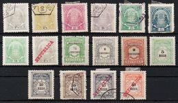 Portogallo (Pörtugal) - Mozambique (Moçambique) – Lotto Di 16 Francobolli Linguellati E Usati - Mosambik