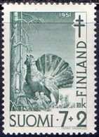 FINLAND - BLACKCOCK - *MNH - 1951 - Paons