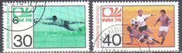 Germany BRD 1974 - Mi.811-12 - Gestempelt - Used - Usados