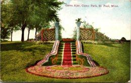 Minnesota St Paul Como Park Gates Ajar 1912 - St Paul