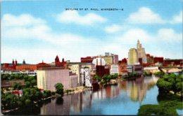 Minnesota St Paul Skyline - St Paul