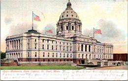 Minnesota St Paul State Capitol Building 1906 - St Paul