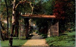 Minnesota St Paul Como Park Entrance To Japanese Gardens - St Paul