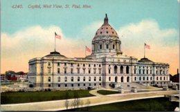 Minnesota St Paul State Capitol Building - St Paul