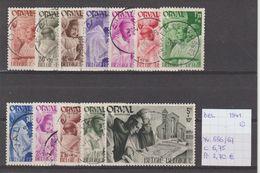 België 1941 - Yv./OCB 556/67 Gest./obl./used - Belgium