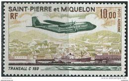 St. Pierre Et Miquelon 1973. Michel #494 MNH/Luxe. Aviation. Airplanes (Ts27) - Avions