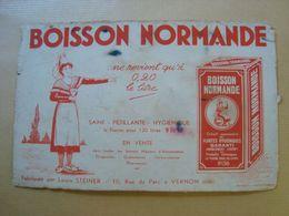 BUVARD BOISSON NORMANDE LOUIS STEINER - Softdrinks