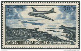 St. Pierre Et Miquelon 1956. Michel #380 MNH/Luxe. Aviation. Airplanes (Ts27) - Avions