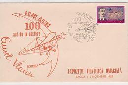 AVION PLANE AUREL VLAICU ROMANIA SPECIAL COVER - Avions