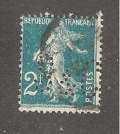 Perfin/perforé/lochung France No 239 S&C Segard Et Cie - France