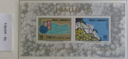Turkije 1967 Nationale Postzegeltentoonstelling Izmir - 1921-... República