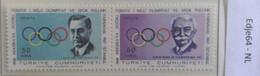 Turkije 1967 Nationale Olympia En Sportzegelwedstrijd - 1921-... República