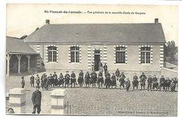 SAINT VINCENT DU LOROUER - Vue Générale De La Nouvelle Ecole De Garçons - France