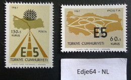 Turkije 1967 Snelweg E5 - 1921-... República