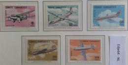 Turkije 1967 Vliegtuigen Van Turkish Airways THY - 1921-... República