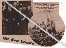 GROBBENDONCK..1936.. DIAMANTEN BRUILOFT BIJ DE ECHTELINGEN DE RADEMAEKER - DE CONINCK - Vecchi Documenti