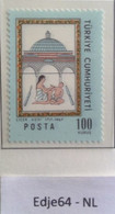 Turkije 1967 Pokkenvaccinatie 250 Jaar - 1921-... República