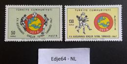 Turkije 1967 Internationaal UEFA Jeugdvoetbaltoernooi - 1921-... República
