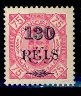 ! ! Angola - 1902 King Carlos W/OVP 130 R (Perf. 11 3/4) - Af. 70b - MH - Angola