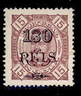 ! ! Angola - 1902 King Carlos W/OVP 130 R - Af. 69 - MH - Angola