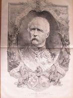 1873   Le Général MAC-MAHON  Grand Portrait   Duc De Magenta Et Président De La République Francaise - Vecchi Documenti