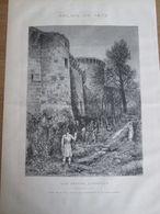 1873  DUEL Pistolet   Une Affaire D Honneur   Dessin De M YON - Vecchi Documenti