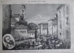 1873 VENISE     Les Funerailles De   ARY ARNOLD SCHEFFER - Vecchi Documenti