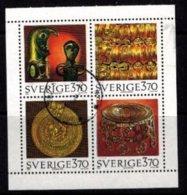Mi.1906-09 Viking Gold - Hojas Bloque