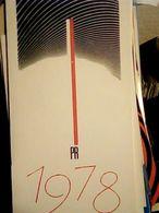 CALENDARIO RADIO POLSKIE  RADIO POLAND 1978 HQ9898 - Calendars