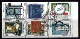Mi.1828-33 Design - Hojas Bloque