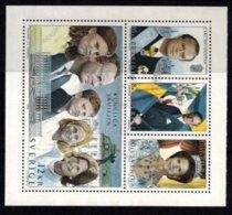 Mi.181793-96 Royal Family F.u. - Hojas Bloque