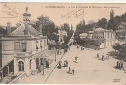*** 95  ****  MONTMORENCY  La Gare Et Le Boulevard De L'Ermitage - écrite TTBE - Montmorency