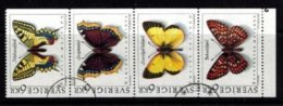 Mi.1774-77 Domestic Butterflies - Hojas Bloque